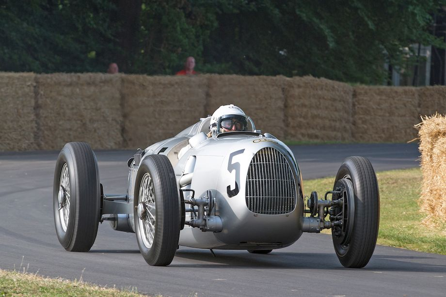 1936 Auto Union Type C driven by Nick Mason
