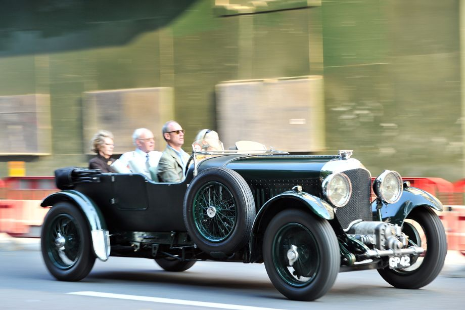1931 Bentley 4 1/2 litre Van den Plas Supercharged Sports Tourer