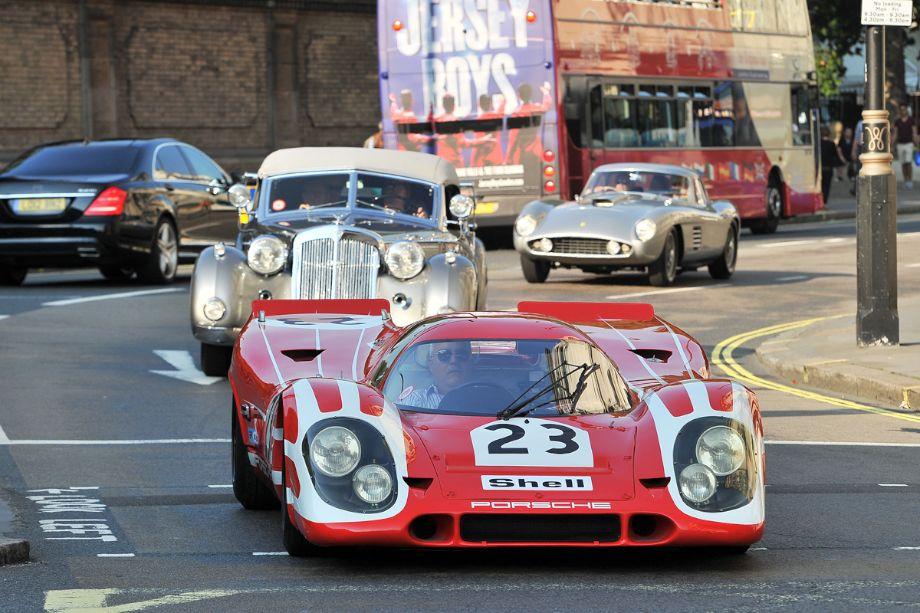 1969 Porsche 917K 023, winner of the 1970 24-Hours of Le Mans