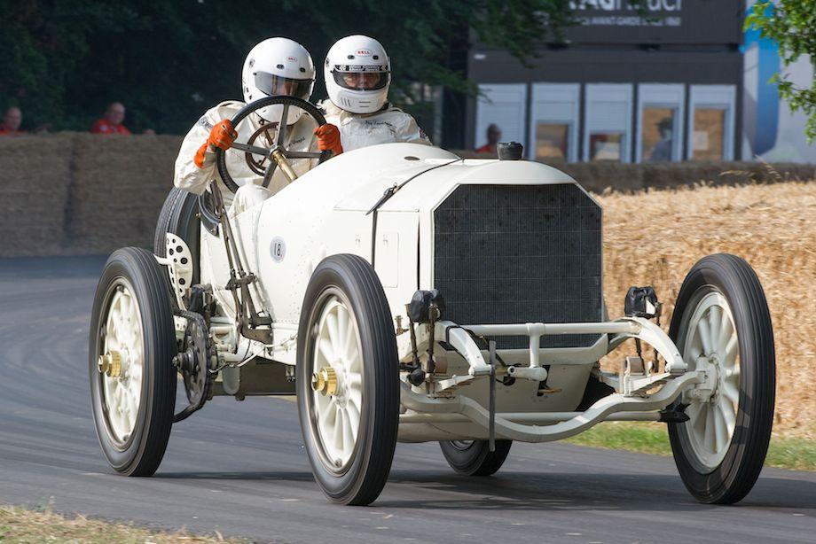 Mercedes Grand Prix White Knight