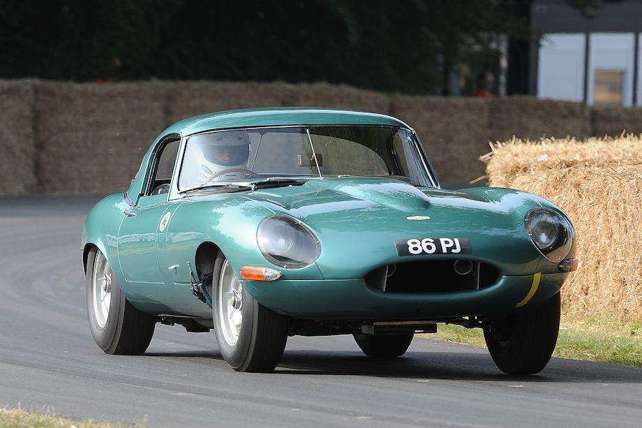 Jaguar E-Type Hard Top Lightweight '86 PJ' 1963