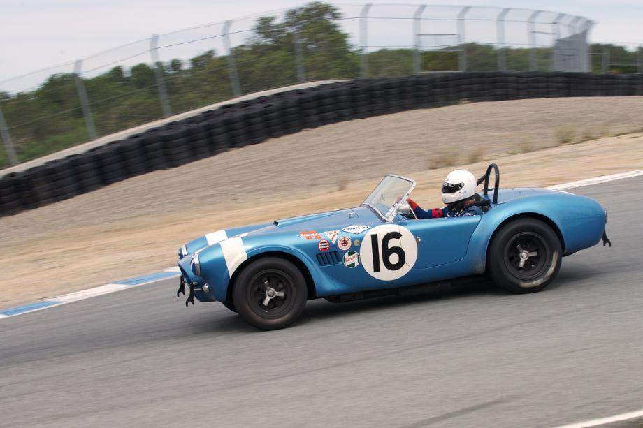 Steve Park's 1962 Shelby Cobra.