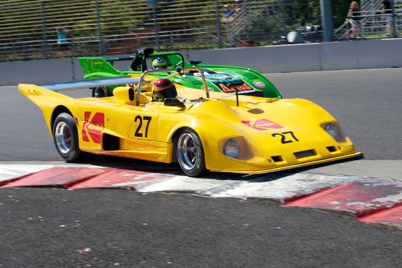 Chip Conner's 1974 Porsche 911 RSR IROC, ex-Dennis Hulme.
