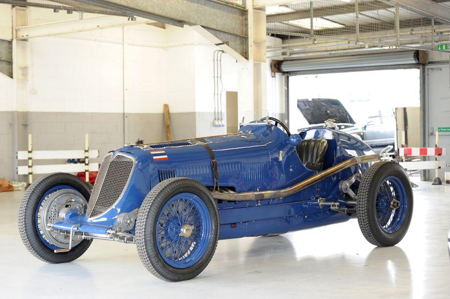 1934 Maserati 8CM Prince Bira of Siam