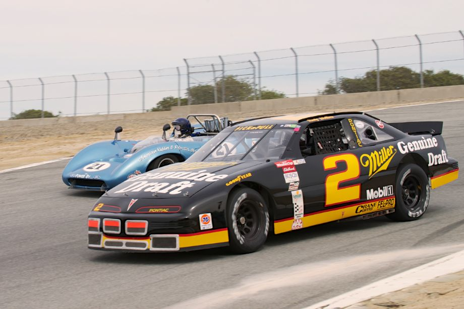 Pontiac Grand Prix and Lola T70 Spyder