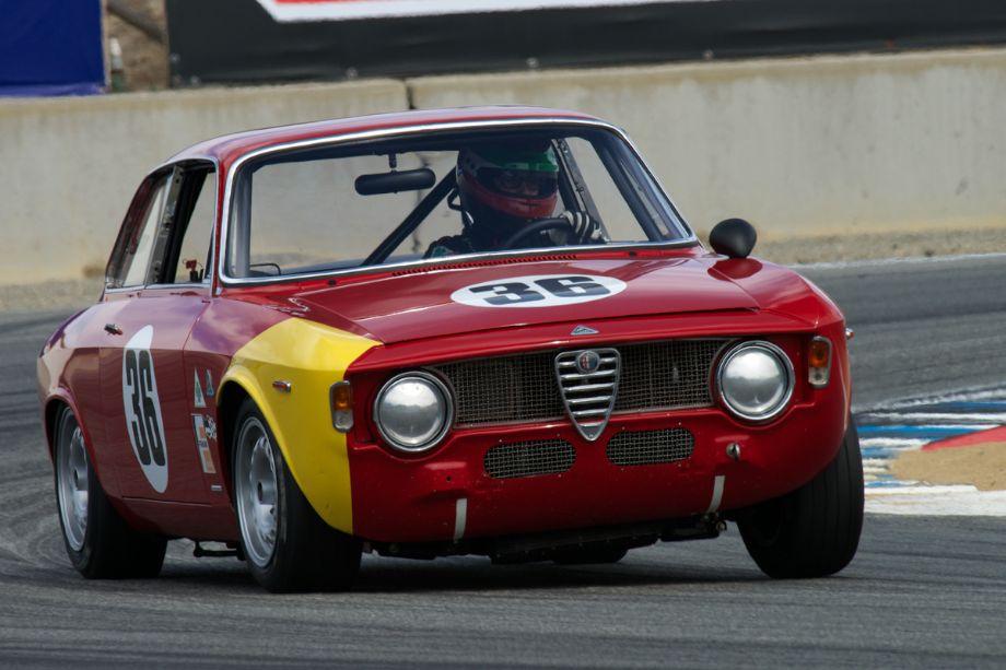 Mark Colbert in his Alfa Romeo GTA Corsa.