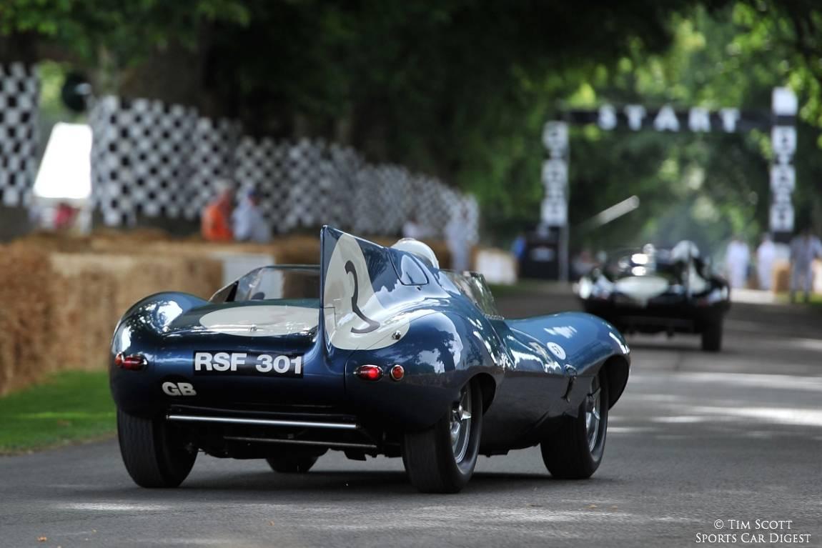 Jaguar D-type Long-Nose