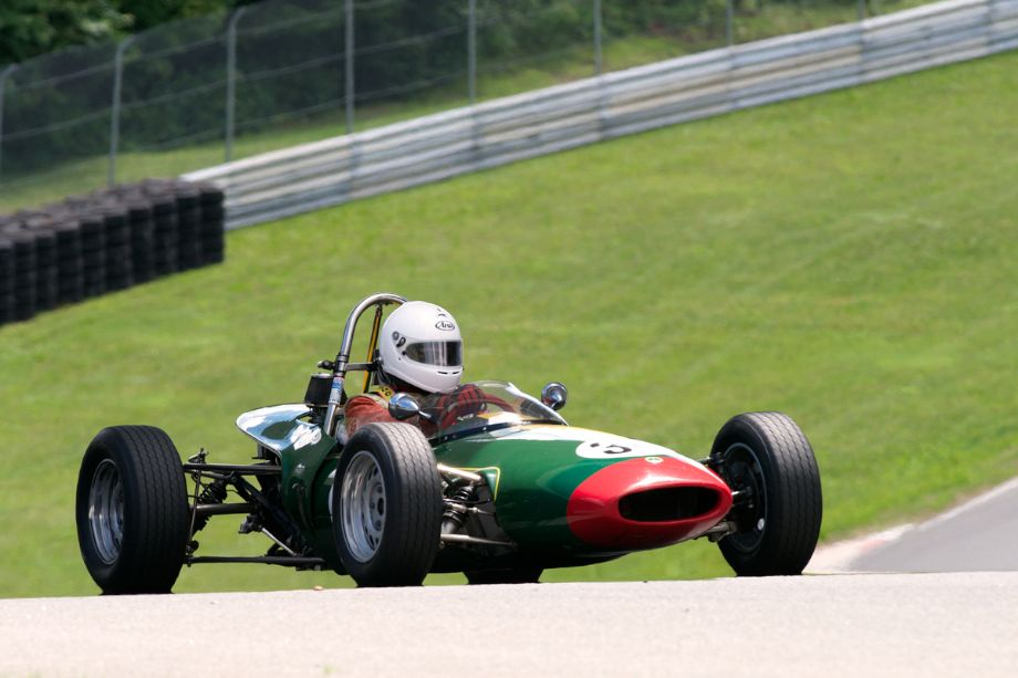Thursday's test session found William Bartlett out in his 1968 Lotus 51.