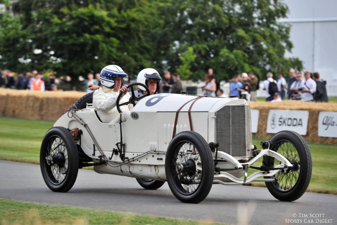 Mercedes Grand Prix racing car driven by Jochen Mass
