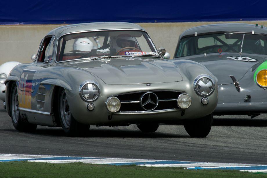 300SL Gullwing Mercedes Benz driven by Alex Curtis.