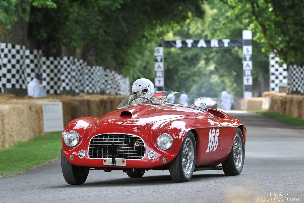 Ferrari 166 MM Barchetta of Sally Mason-Styrron