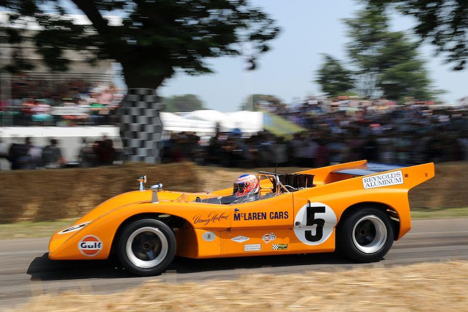 Ex-Denny Hulme McLaren M8D Can-Am