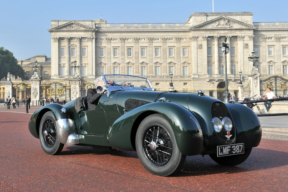 1940 Aston Martin Type C Speed Model