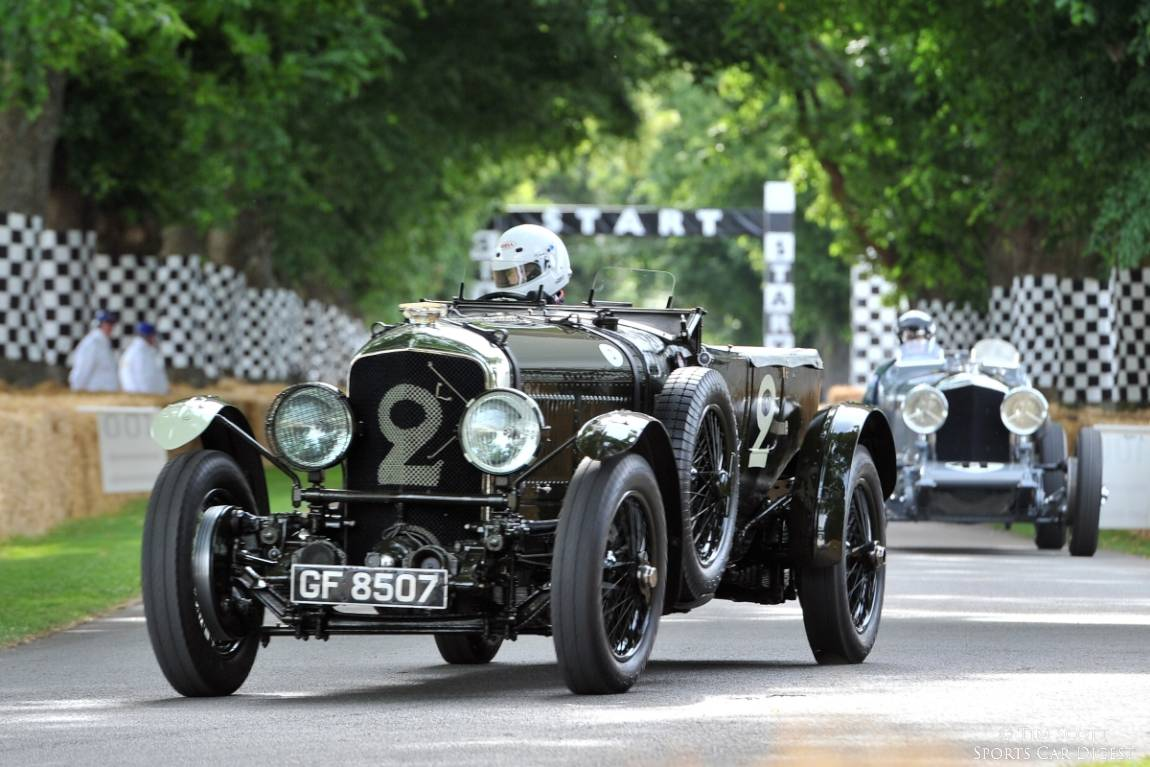 Bentley Speed Six 'Old Number 2' in its original form as raced at Le Mans in 1930