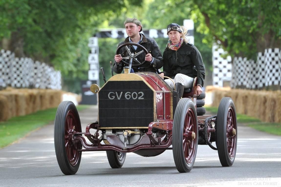 1903 Mercedes 60HP won that year's Gordon Bennett Cup when driven by Belgian 'Red Devil', Camille Jenatzy.