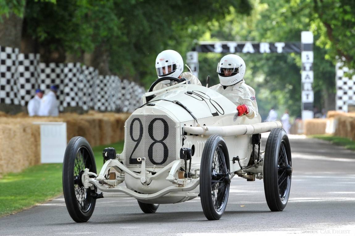 Mercedes-Benz Grand Prix won the 1914 French Grand Prix driven by Christian Lautenschlager