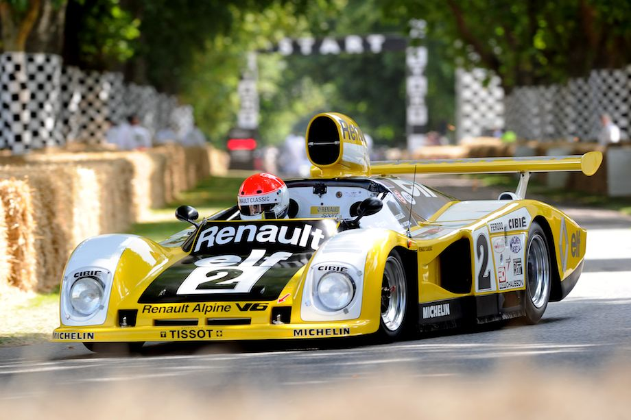 Alpine Renault A442B won Le Mans in 1978