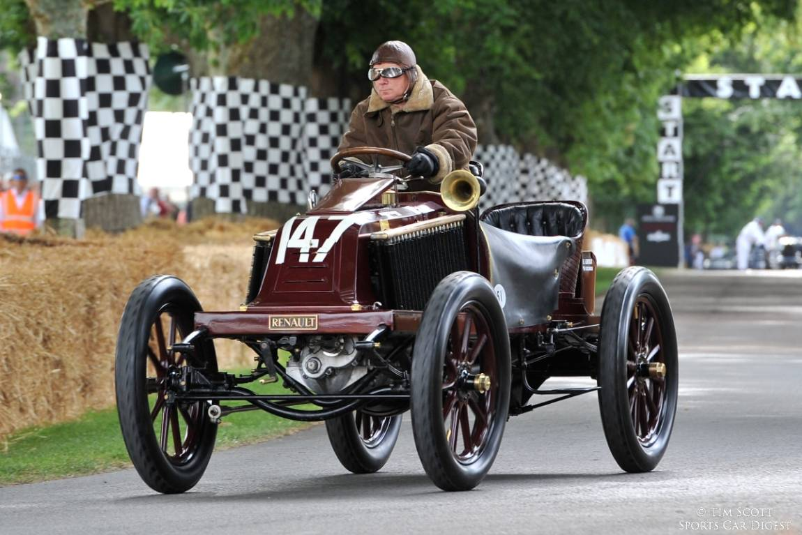 1902 Renault Type K that was one of the world's earliest racing cars