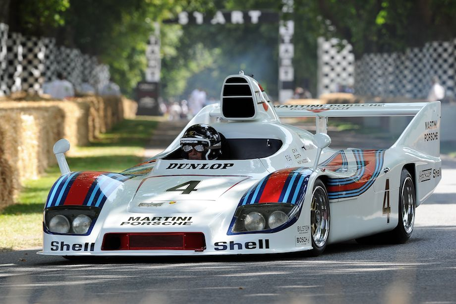1977 Martini Racing Porsche 936/77 driven by Jacky Ickx