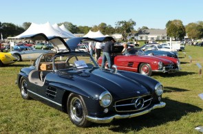 1957 Mercedes 300SL Gullwing Black Picture
