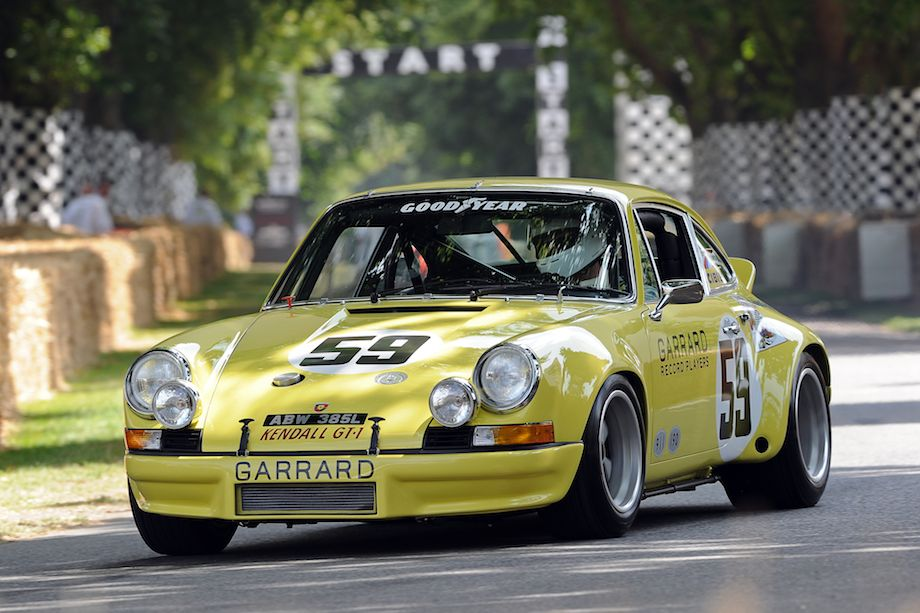 Porsche 911 RSR 2.8 won the 12 Hours of Sebring win in 1973