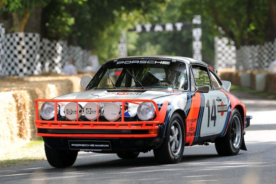 1978 Porsche 911 SC East African Safari Rally