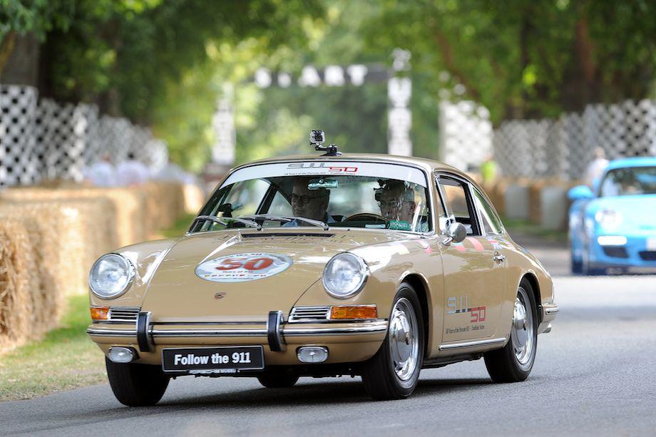 Porsche 911 driven by Vic Elford