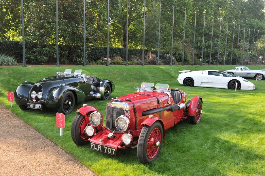 1934 Aston Martin 1 1/2 Litre Ulster and 1940 Aston Martin Type C Speed Model