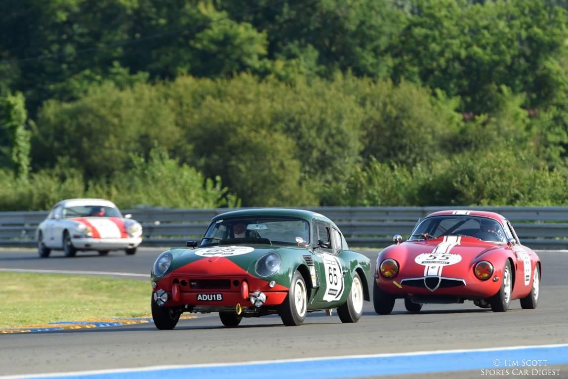 1964 Triumph Spitfire 'ADU1B' and 1965 Alfa Romeo TZ