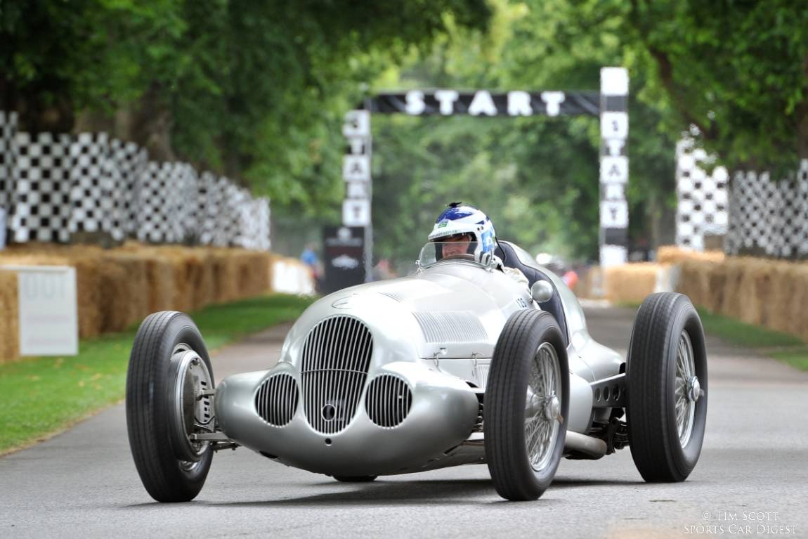 1937 Mercedes-Benz W125 driven by Jochen Mass