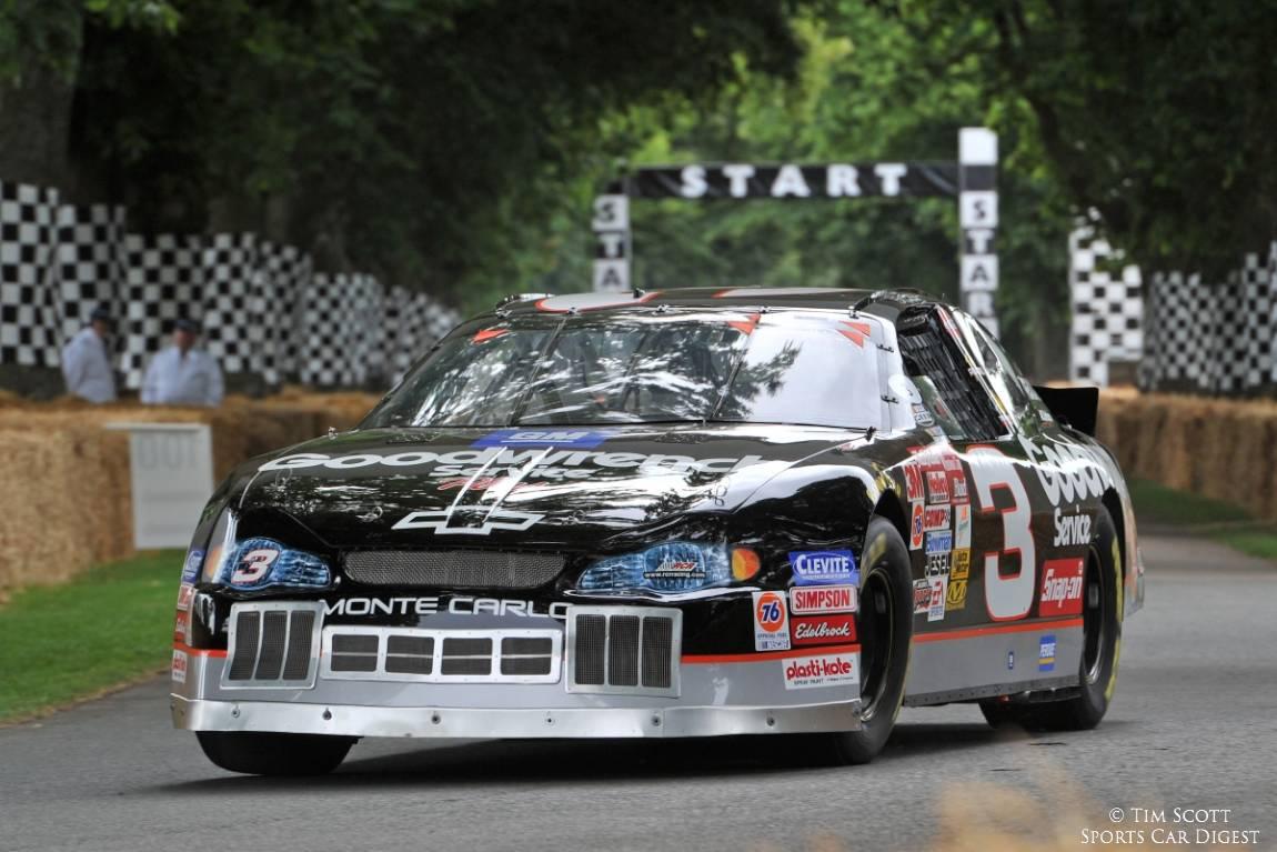 Ex-Dale Earnhardt Chevrolet Monte Carlo driven by Kerry Earnhardt