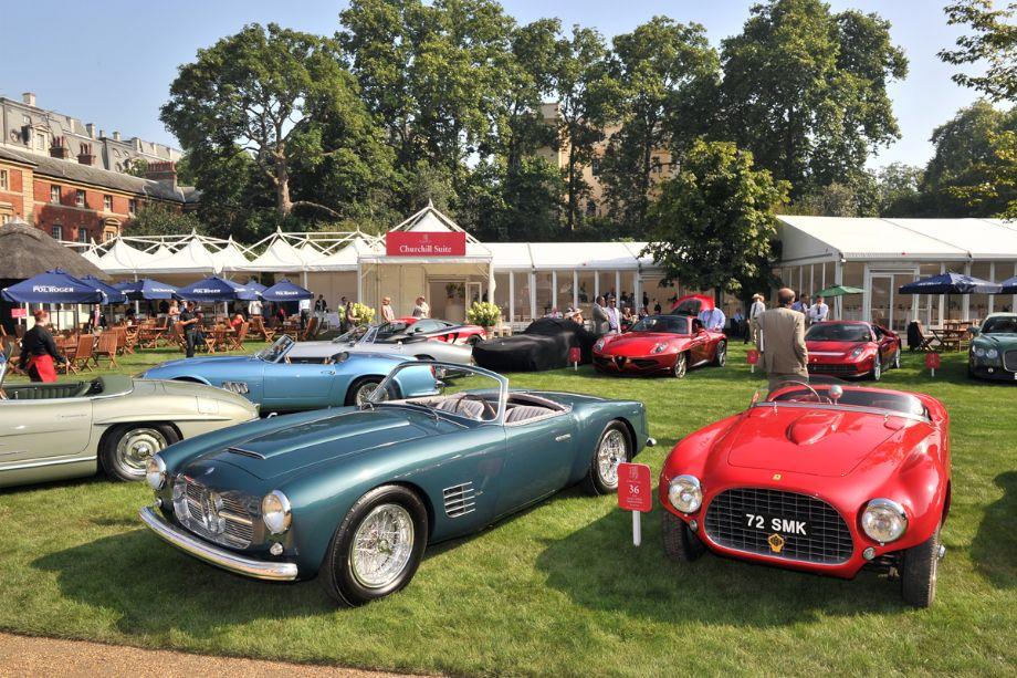 1955 Maserati A6G/54 2000 Spider Zagato and 1953 Ferrari 166MM Vignale Barchetta