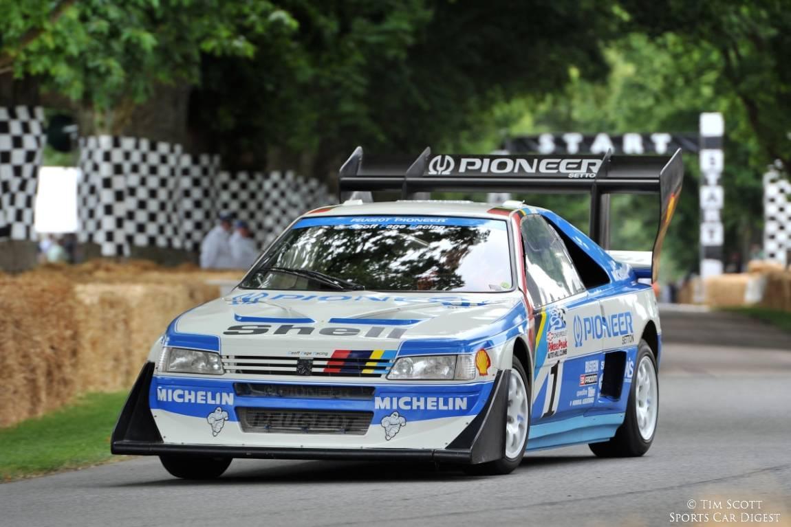 Peugeot 405 T16 GR Pikes Peak