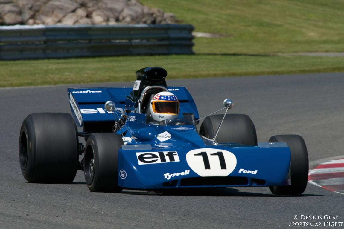 John Delane's 1971 Tyrrell 002.
