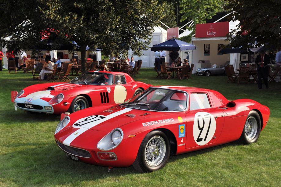 1964 Ferrari 250 Le Mans Berlinetta Pininfarina and 1963 Ferrari 250 GTO 64 C