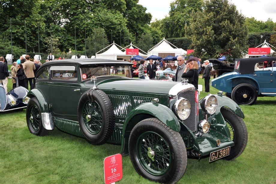 1930 Bentley Speed-Six Gurney Nutting Sportsman Coupe