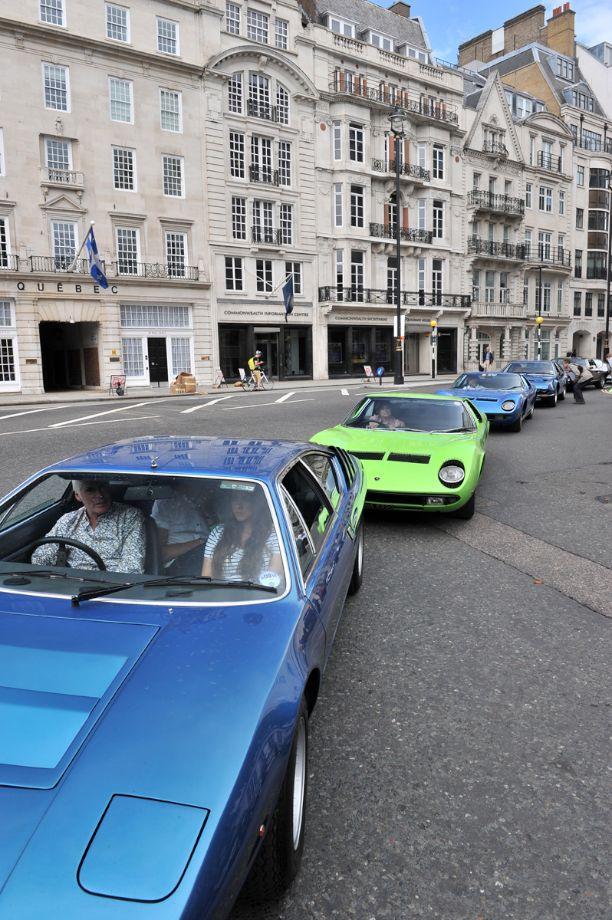 Lamborghini 50th Anniversary Celebration