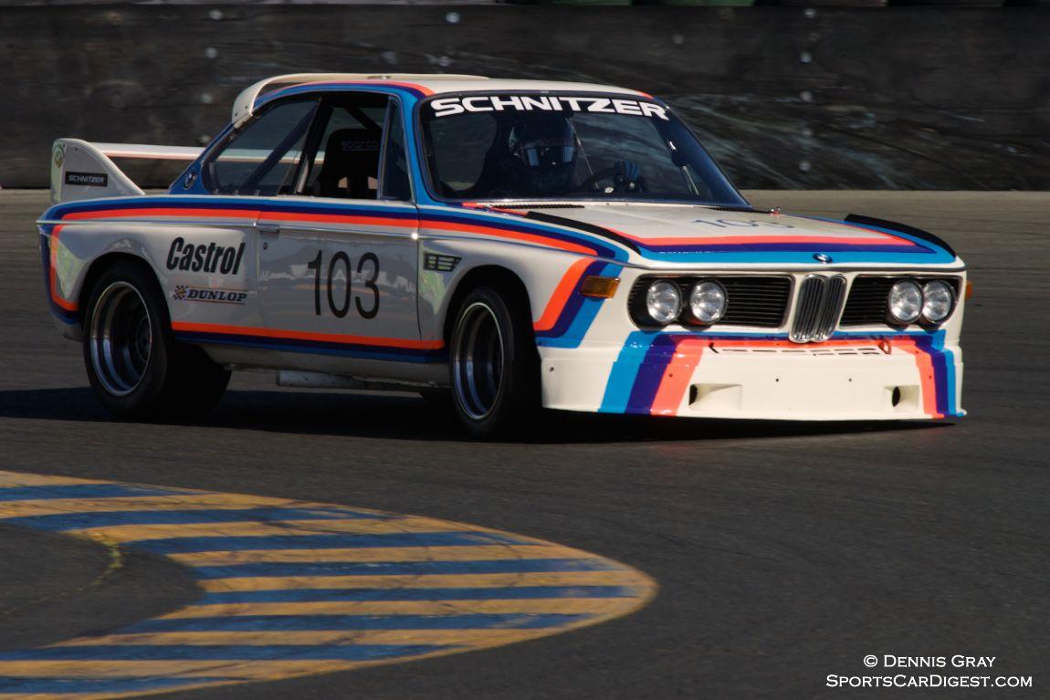 BMW 3.5 liter CSL BMW driven by Thor Johnson.