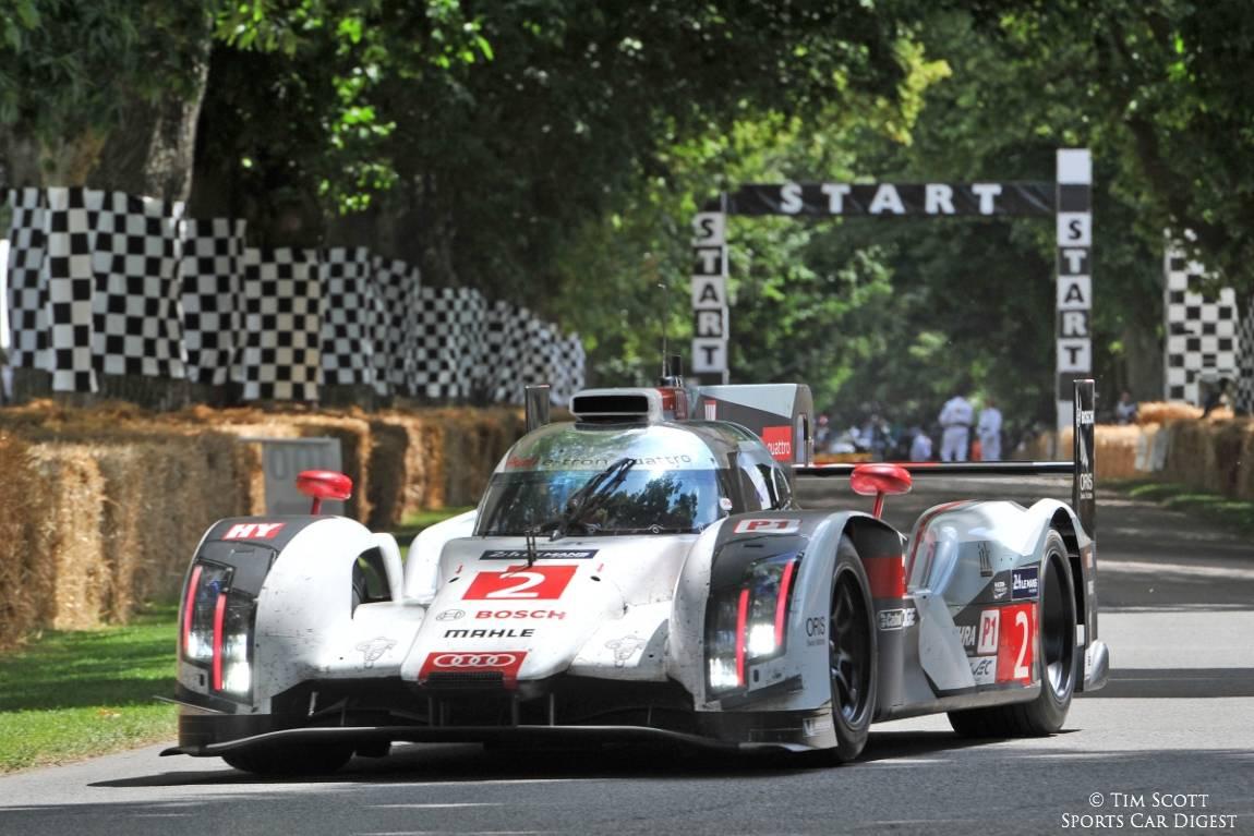 2014 Le Mans-winning Audi R18 e-tron quattro