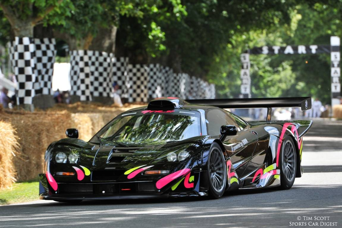 Kenny Brack was really quick in the McLaren F1 GTR 'Long Tail'