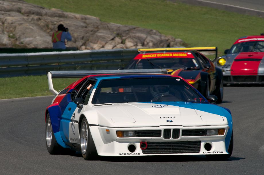 Henry Schmitt's BMW M1 Procar in turn fifteen.