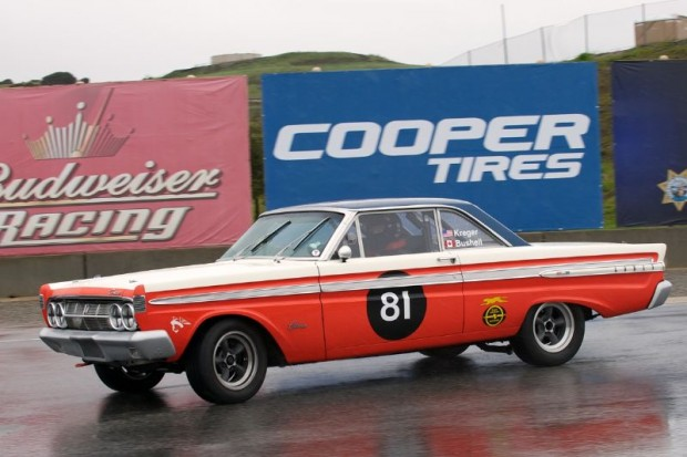 As the rain increases the Comet looks to be more and more fun to drive.