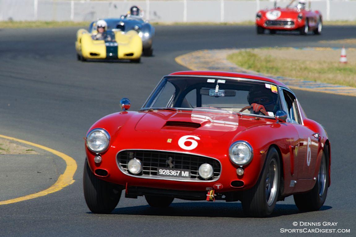Ned Spieker's Ferrari 250GT SWB.