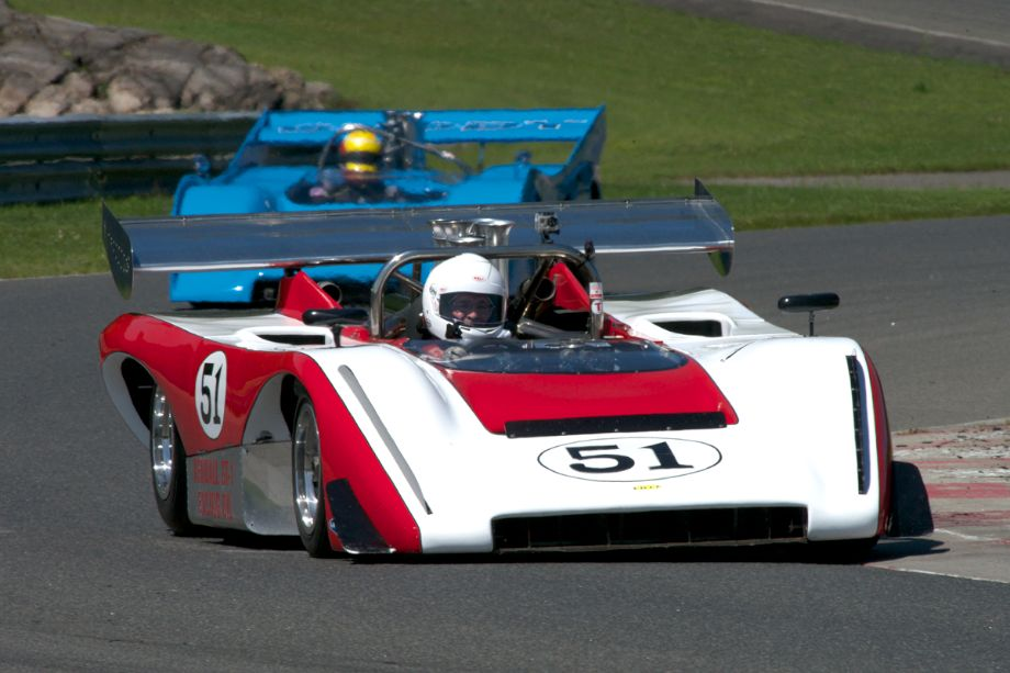 Lola T222 driven by Claude Malette.