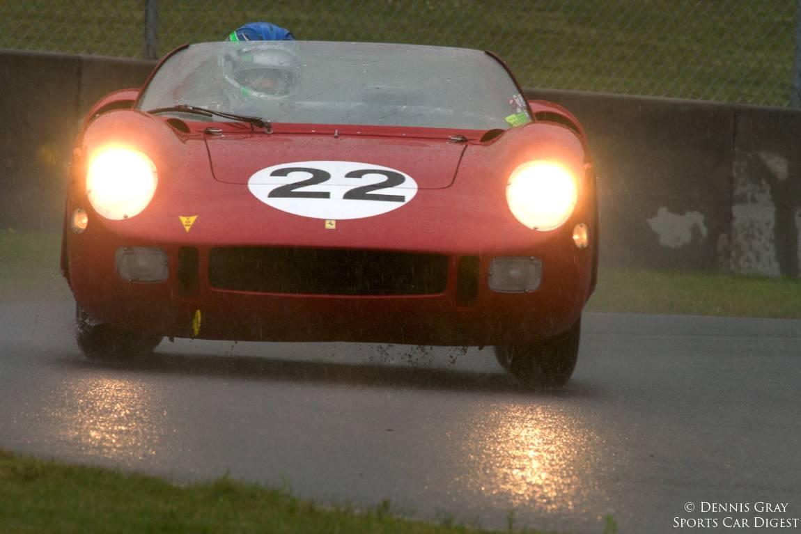 #3 of four. Stephen Hill's 1963 Ferrari 250P Sunday morning.