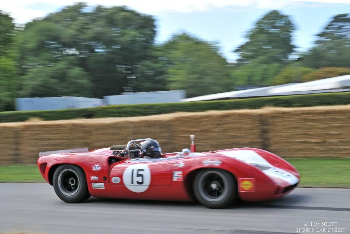 Ex-John Surtees Lola-Chevrolet T70 Spyder