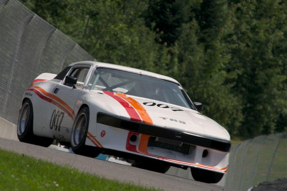 Benoit LaFlamme's Triumph TR8 in twelve.