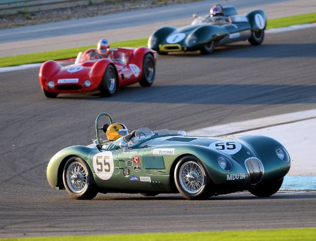 Jaguar C-Type during Algarve Historic Festival