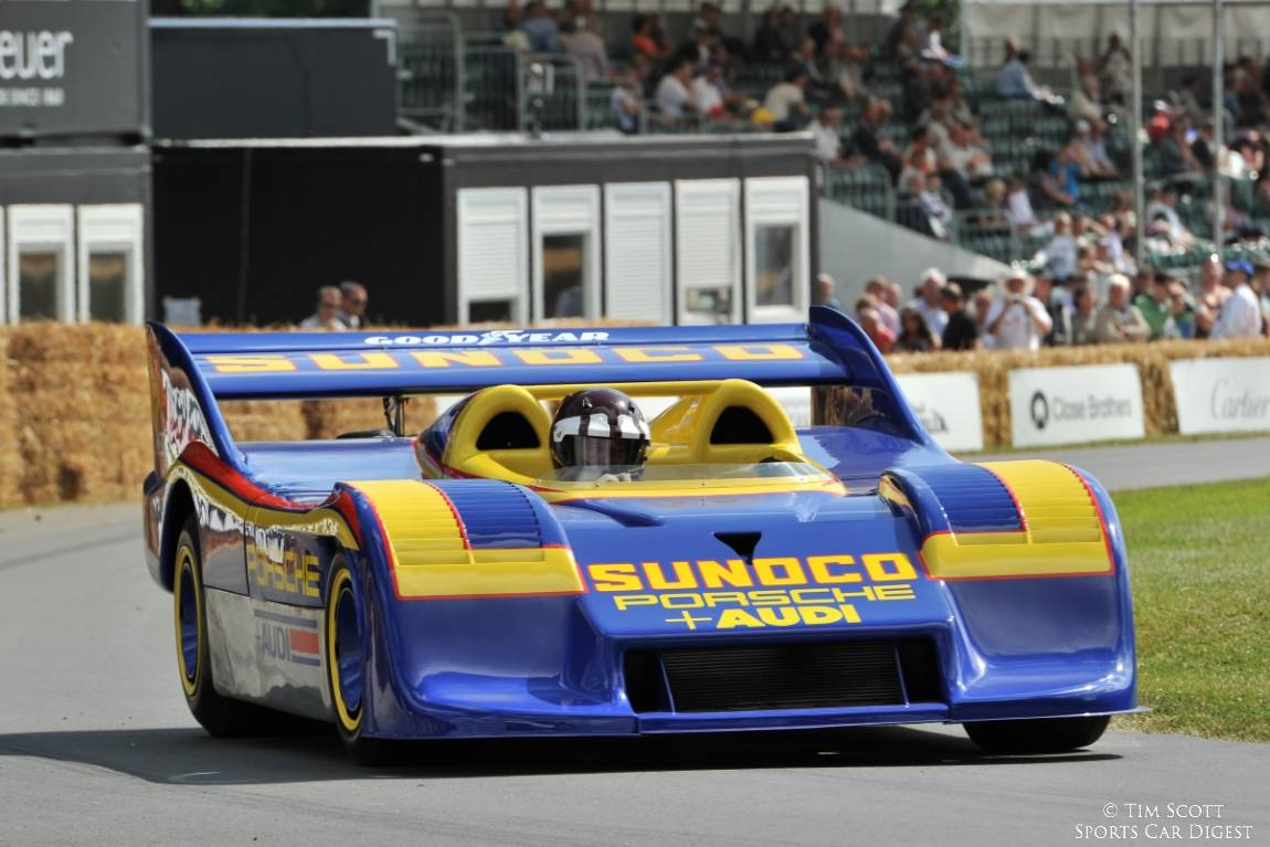 Jackie Oliver wheels the awesome Porsche 917-30