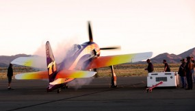 Rare Bear fires up at the Reno Air Races 2010